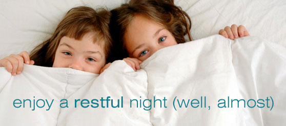 Enjoy a restful night and awake feeling clear