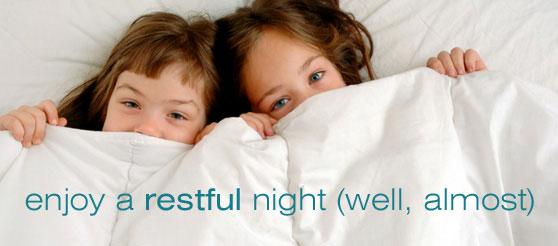 Enjoy a restful night and awake feeling clear